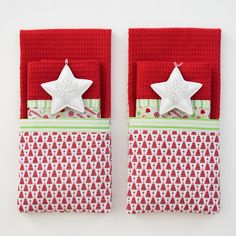 Quick and Easy Dish Towel Gifts for the Holidays