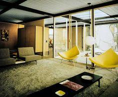 CSH #18B, Fields House (1956-1958) - Craig Ellwood Miradero Road, Beverly Hills