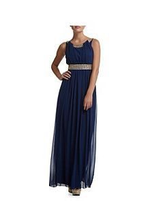 Sleeveless  Diamante Maxi Dress. By Chi Chi London from House of Fraser. £15.99.