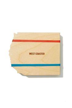 Reed Wilson Design West Coasters Set - Design Lover | Kitchen + Bar | All | Festive Fiend | Gift | Under $50