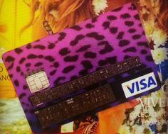 Custom visa card