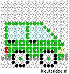 Kralenplank auto, kleuteridee.nl , thema verkeer  , free printable  Beads…