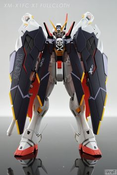 GUNDAM GUY: MG 1/100 XM-X1 Crossbone Full Cloth - Painted Build