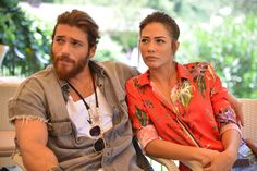 Demet Özdemir and Can Yaman in Erkenci Kus Outfit Cabello, Melissa & Joey, Jane The Virgin, Turkish Beauty, Early Bird, Turkish Actors, Handsome Boys, People Like, Movies And Tv Shows
