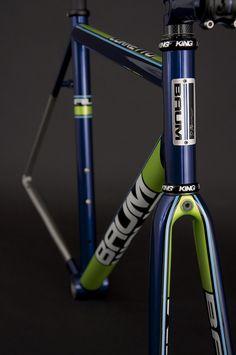 GTR, Crystal Blue, Venom Green, Corretto by Baum Cycles, via Flickr