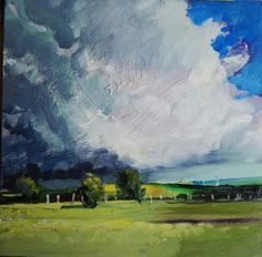 Philip Tyler Cloud Oil on Board 20 x An image from my forthcoming book on landscape painting and drawing Landscape Paintings, Landscapes, Painting & Drawing, Clouds, Sky, Fine Art, Gallery, Drawings, Artist
