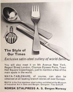 Maya cutlery design Tias Eckhoff