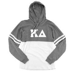 Now available Kappa Delta Long ... Shop http://manddsororitygifts.com/products/kappa-delta-hoodie-ls-sgl?utm_campaign=social_autopilot&utm_source=pin&utm_medium=pin