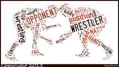 Wrestling Word Art