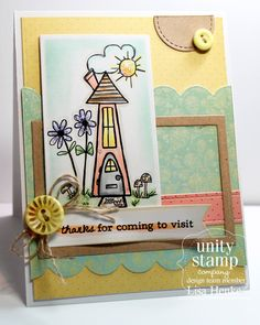 Unity Stamp Company: DT Tuesday with Lisa H.    http://unitystampco.com/