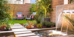 Jardines pequeños con encanto - Las nuevas tendencias para 2021 - Landscape Edging, Landscape Plans, Landscape Architecture, Landscape Designs, Ideas Para Decorar Jardines, Backyard Renovations, Backyard Plan, Outdoor Living, Outdoor Decor