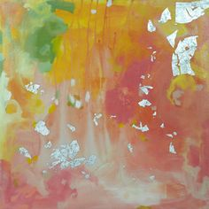 how about this Michelle Armas painting, Secret Pretender, for amazing wedding color inspiration?