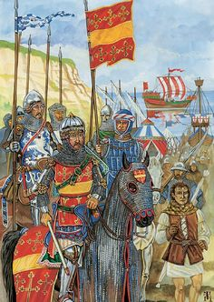 Beauchamp and the English Army, 1330-1360