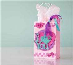 Surprise your sweetheart with a customized gift bag!