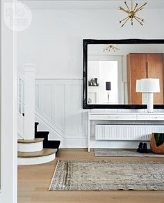 Making a statement in the entryway — The Decorista