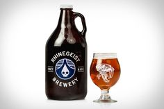 The brewing history in our hometown of Cincinnati goes way back. Combine that history with our current beer soaked culture and some special things can happen. Rhinegeist Brewing is one of the newest additions to a growing craft scene in Cincy, and their newest creation is called Saber Tooth Tiger ($15).