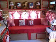 Red Gingham Caravan