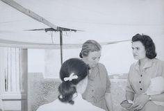 "Giuseppe Cavalli, ""Una Fiera nei paesi italiani del Sud: La venditrice sdegnosa"" (ca. 1950) | photograph | gelatin silver print    Source: http://www.sfmoma.org/explore/collection/artwork/103117?artwork=103117#ixzz1jCS2YUfv   San Francisco Museum of Modern Art"