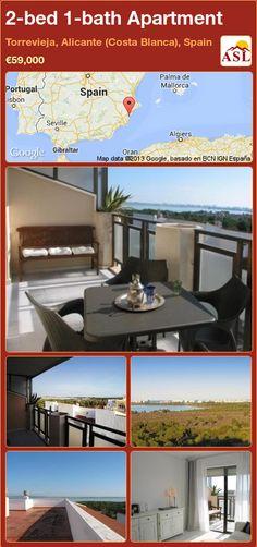 2-bed 1-bath Apartment in Torrevieja, Alicante (Costa Blanca), Spain ►€59,000 #PropertyForSaleInSpain