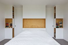 Plywood has been making the rounds in the design world proving that the relatively inexpensive material can be both viable and desirable, especially in the world of interiors. i29 interior architects took the basic pine wood material and pushed it outside the box by covering large expanses of the interior to bring more warmth inside of Home 09.