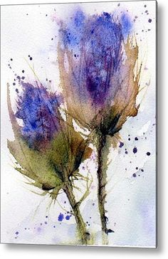 Anne Duke - Blue Thistle