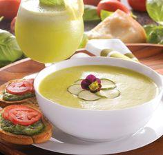 Zucchini Soup in the vitamix