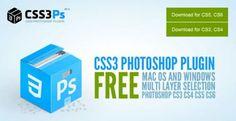 plugin gratuit pour Photoshop pour convertir les formes en CSS - CSS3Ps - http://twit.lu/gh