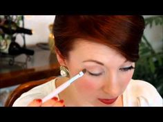 ▶ Joan Holloway (Mad Men) Makeup Tutorial! - YouTube