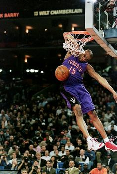 Vince Carter elbow dunk