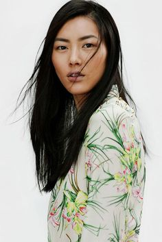 Model Liu Wen for ©Zara