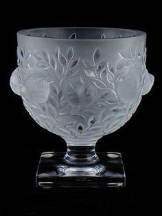 Lalique Elizabeth birds bowl