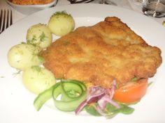 Polish kotlet schabowy - pork escalope - yum!
