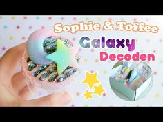 Galaxy Decoden│Sophie & Toffee Subscription Box October 2016 - YouTube