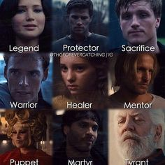 I don't completely agree 20th Effie being a puppet,  especially in Mockingjay, but the others are correct.