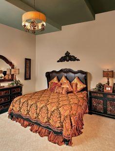 Beautiful bedroom!   Parade of Homes 2012 in The Dominion | San Antonio Texas | TX