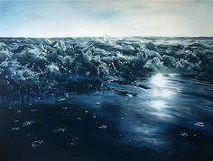Вода и лед от Zaria Forman | www.krasfun.ru