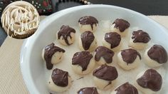 How to make Chocolate Dripped Coconut Balls (DIY)