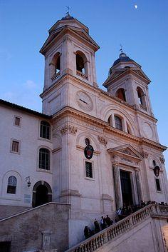 Trinità dei Monti, Rome, Italy