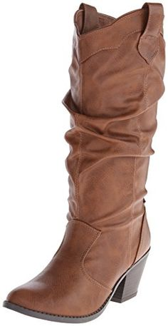 b48991a32c9 boots  Qupid Women s Western Boot