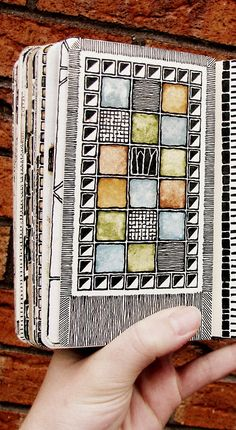Moleskine 02, #080  -  ink and watercolour