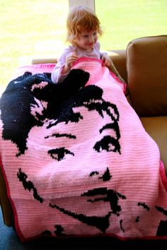 Audrey - crochet blanket