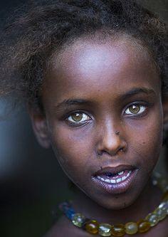 Afar Tribe Girl, Assayta, Ethiopia | by Eric Lafforgue