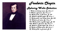 Frédéric Chopin - Relaxing Waltzes Selection in 432 Hz