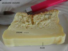 Gâteau magique au chocolat blanc