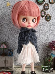 Custom Blythe · junk child _ tail can be removed with clip stop.