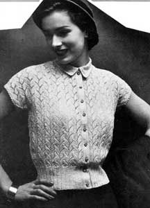 vintage knitting patterns for free! Sweater Knitting Patterns, Knit Patterns, Crochet Pattern, Cardigan Pattern, Vogue Knitting, Free Knitting, Knitting Needles, Vintage Knitting, Vintage Crochet
