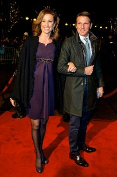 Prince Maurits and Princess Marilene of The Netherlands attend the kingdom's concert in Scheveningen, The Hague, 30 Nov 2013.