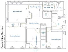Master Suite Addition, Floor Plans, Design, Home Architecture, Houses