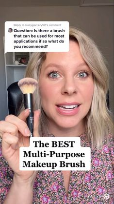 This is my absolute favorite multipurpose makeup brush. Its currently 25% off! Get it while its hot!