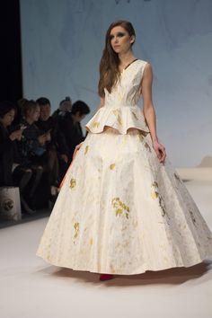 #paperdresses are the latest idea from #designer Maggie Chan at #hongkongfashionweek #fashionweek #fashionnews